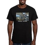 Freeway Madness Men's Fitted T-Shirt (dark)