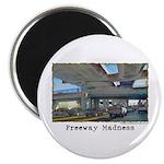 Freeway Madness Magnet
