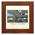 Freeway Madness Framed Tile