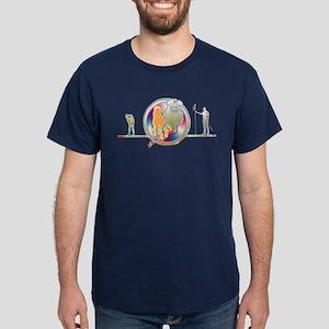 Dark T-Shirt golfing digital art