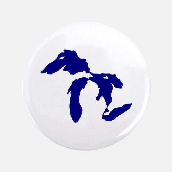 """Great Lakes 3.5"""" Button"""