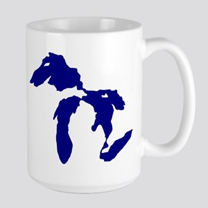 Great Lakes Large Mug