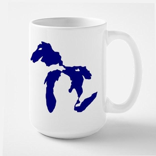 Great Lakes Large Mug