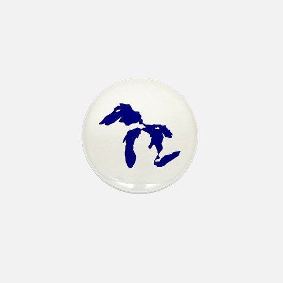 Great Lakes Mini Button