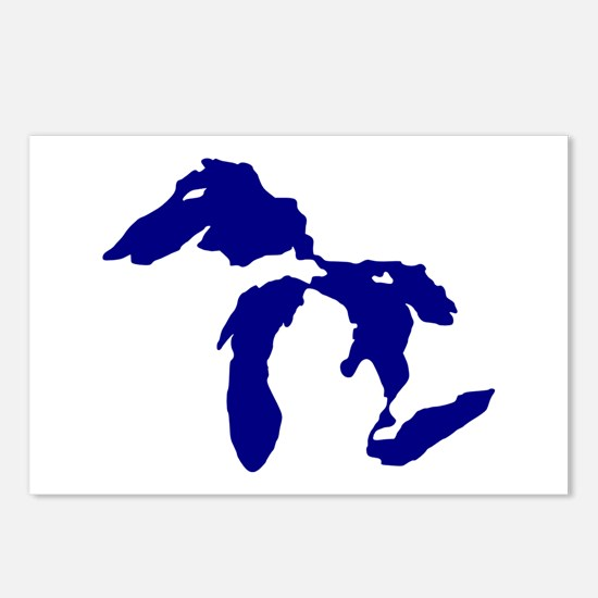 Great Lakes Postcards (Package of 8)