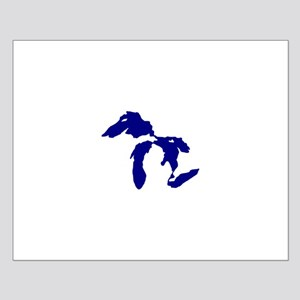 Great Lakes Small Poster