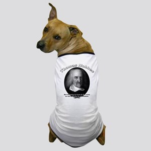 Thomas Hobbes 04 Dog T-Shirt