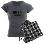 DD 214 Alumni Women's Charcoal Pajamas