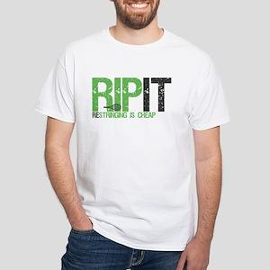 RIP IT White T-Shirt