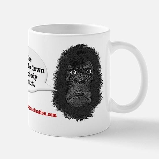 gorilla-mask-art website Mugs