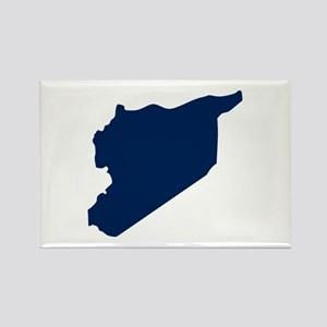 Syria Rectangle Magnet