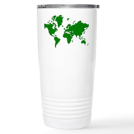 World map Stainless Steel Travel Mug