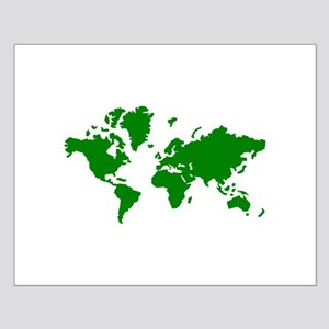 World map Small Poster