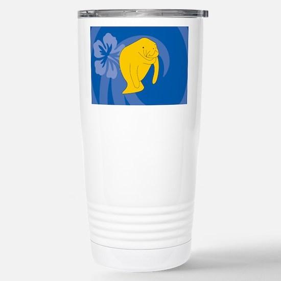 Manatee Stainless Steel Travel Mug