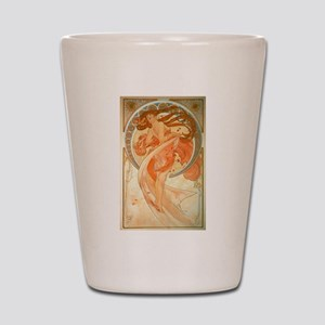 """""""Dance"""" - Art Nouveau - Much Shot Glass"""
