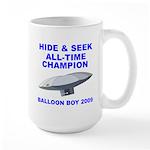 Balloon Boy - Hide & Seek Cha Large Mug