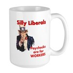 Silly Liberals (Uncle Sam) Large Mug