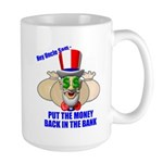 Put the Money Back Large Mug