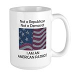 Amrican Patriot Large Mug