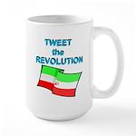 Tweet the Revolution Large Mug