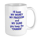Keep the Change Large Mug