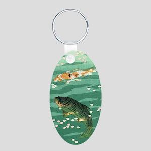 Koi Carp Fish Pond Vintage Classic Japan Keychains