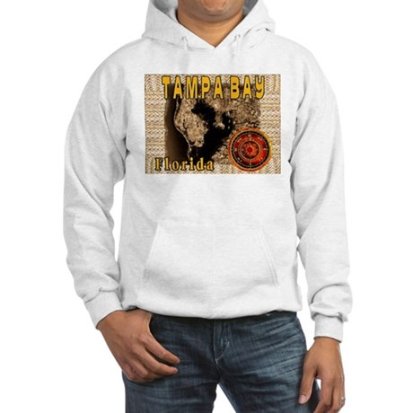 Tampa Bay Map and Compass Ros Hooded Sweatshirt