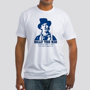 He Never Killed A Man Who Did Fitted T-Shirt