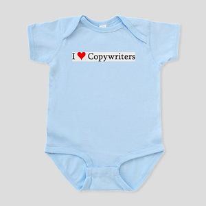 I Love Copywriters Infant Creeper