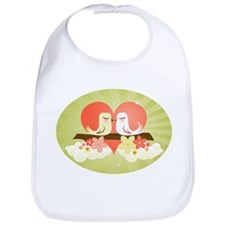 Love Birds at Heart - Bib