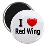 I Love Red Wing Magnet