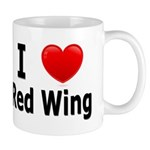 I Love Red Wing Mug