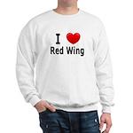 I Love Red Wing Sweatshirt