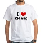 I Love Red Wing White T-Shirt