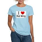 I Love Red Wing Women's Light T-Shirt