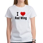 I Love Red Wing Women's T-Shirt