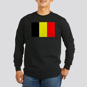 Belgium Long Sleeve Dark T-Shirt