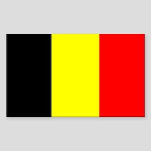 Belgium Sticker (Rectangle)