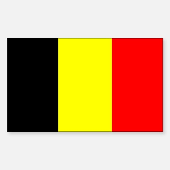 Belgium Sticker (Rectangle)