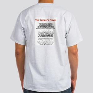 Camper's Prayer Ash Grey T-Shirt