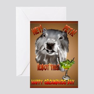 PETA! Robot This! Greeting Card