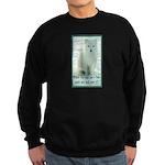 Wolf Coat Sweatshirt (dark)