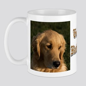 Golden Retriever Head Mug