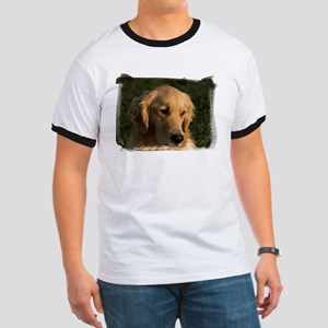 Golden Retriever Head Ringer T