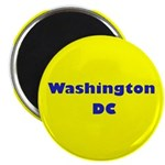 Washington DC (Yellow/Blue) Magnet