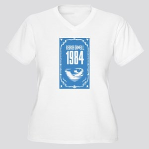1984 - George Orwell Women's Plus Size V-Neck T-Sh