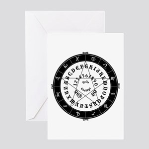 Ouija Witch Greeting Card
