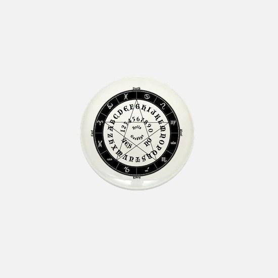 Ouija Witch Mini Button
