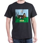 The Ferocious Viking Wiener Dog Dark T-Shirt
