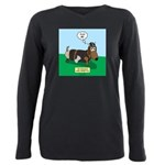 The Ferocious Viking Wie Plus Size Long Sleeve Tee